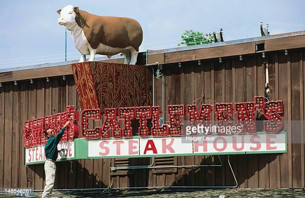 Cattlemen's Steak House, Stockyards National Historic District.