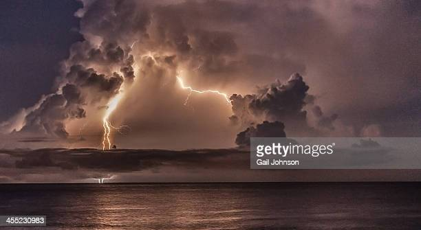 Catumbo Lightning over Venezuela