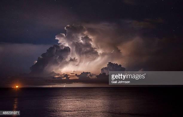 Catumbo Lightning over Venezuela