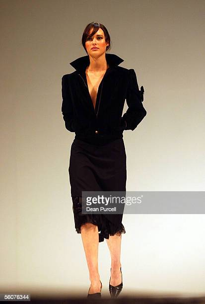 Catwalk models show the New Generation Wellington label Billy Zamoisky Autumn Winter 2002 collection, on the 3rd day of the first Loreal New Zealand...