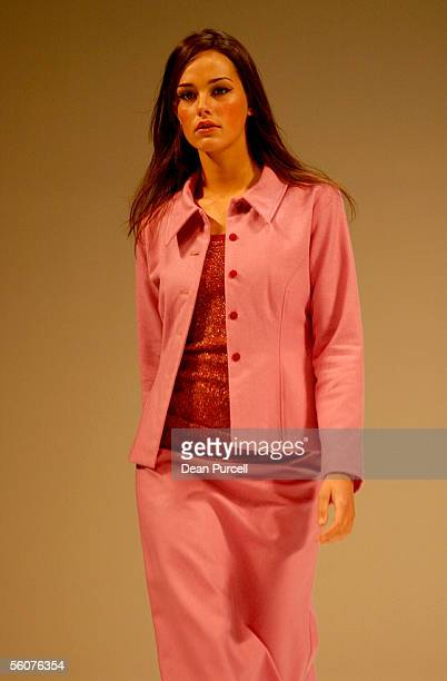 Catwalk models show the New Generation Wellington label Voon, Autumn Winter 2002 collection, on the 3rd day of the first Loreal New Zealand Fashion...