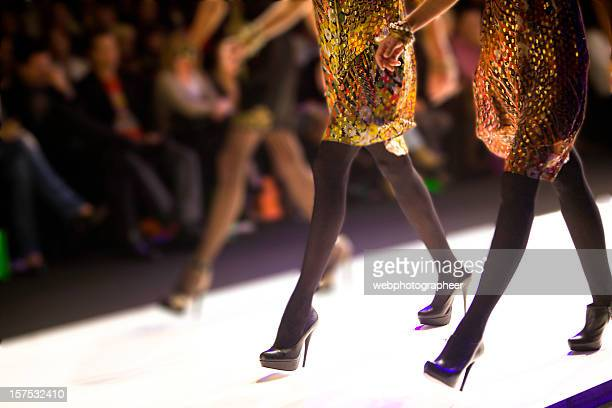 catwalk show - fashion show stock pictures, royalty-free photos & images