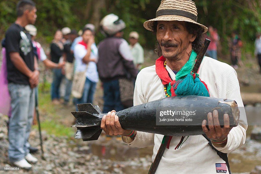 GUERRA EN EL CAUCA : Nachrichtenfoto