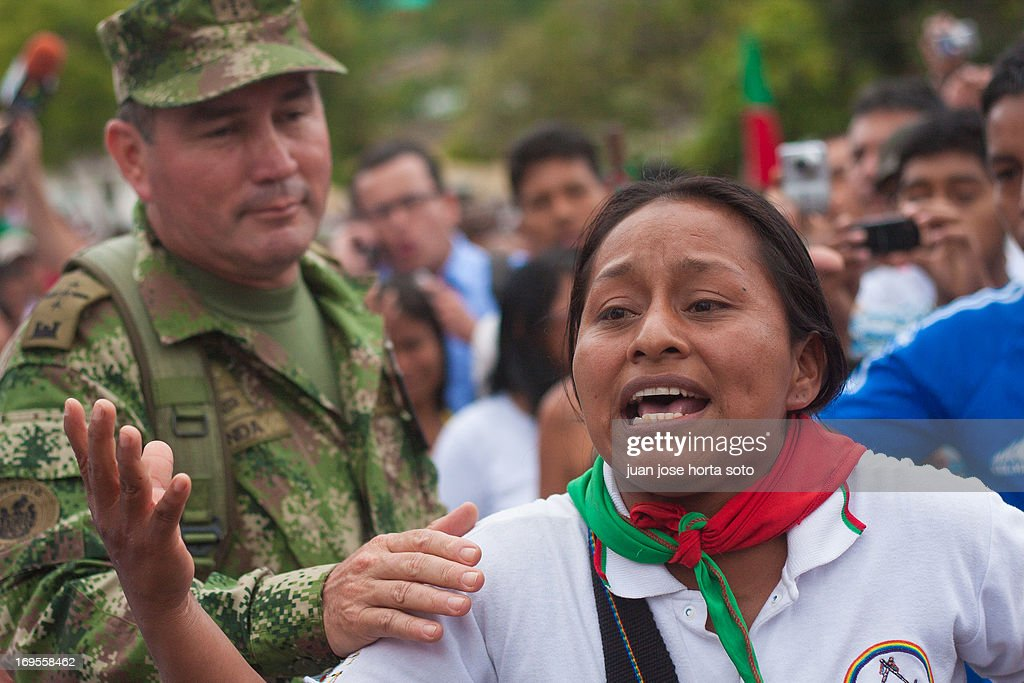 GUERRA EN EL CAUCA : News Photo