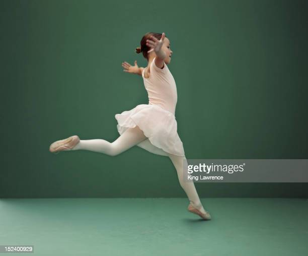 caucasian ballerina dancing - leotard stock pictures, royalty-free photos & images