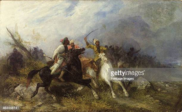 Caucasian Battle From a private collection