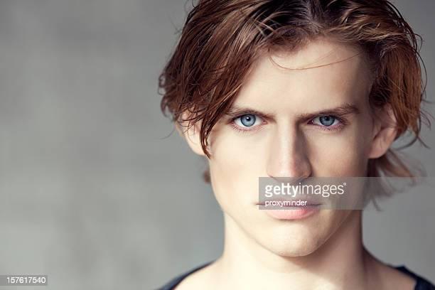 Hombre caucásico retrato