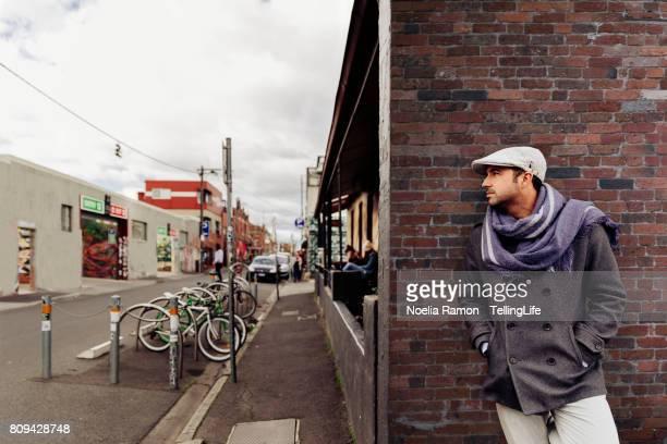 Caucasian models - fashion street style Fitzroy, Melbourne