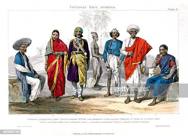 'Caucasian Race, Hindus', 1800-1900. Hindus can be referred to as the successors of Vedic Aryans and other tribes of India. Most of the Hindus today...