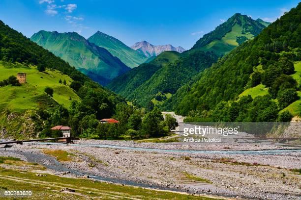 caucasus mountains, georgia - caucasus stock pictures, royalty-free photos & images