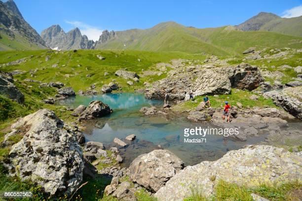caucasus - georgië zuidelijke kaukasus stockfoto's en -beelden
