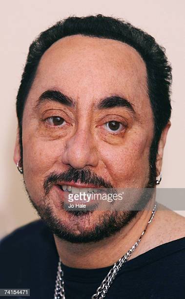 Caudwell Children's Charity new ambassador David Gest poses at the Grosvenor House Hotel on May 15 2007 in London Caudwell Children's Charity will be...