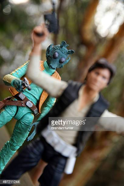 caught, but not for long - jabba the hutt stock pictures, royalty-free photos & images