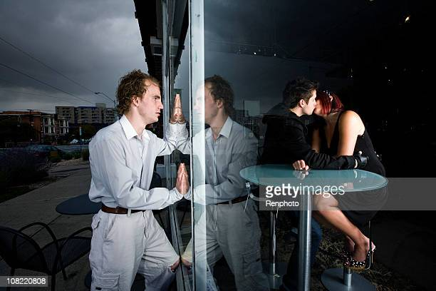 caught cheating - caught cheating stock pictures, royalty-free photos & images