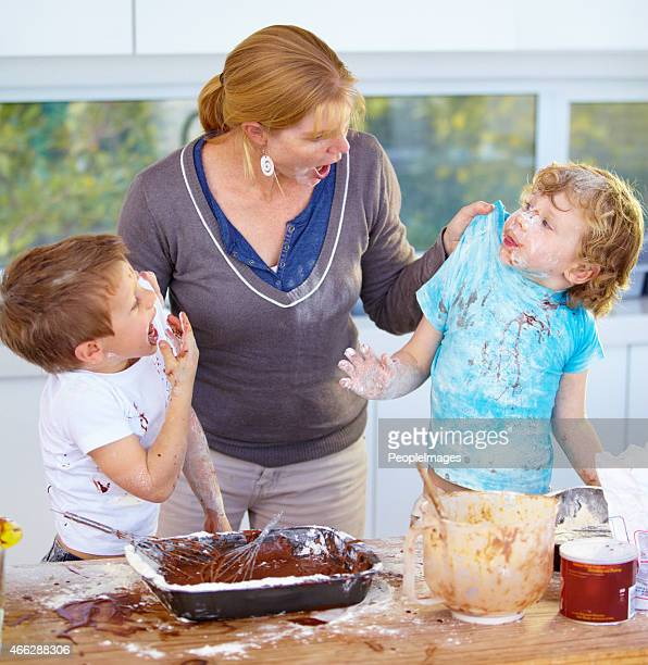 caught in the act - mother scolding stock pictures, royalty-free photos & images