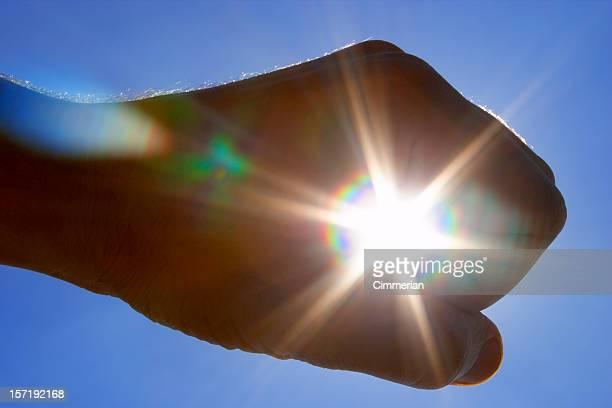Caught the sun