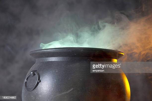 cauldron - potion stock photos and pictures