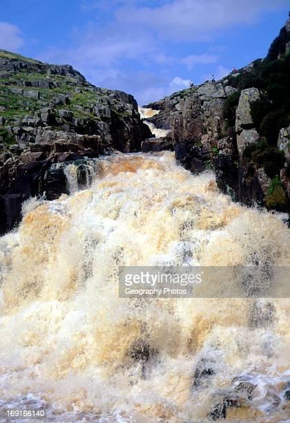 Cauldron Snout waterfall County Durham England