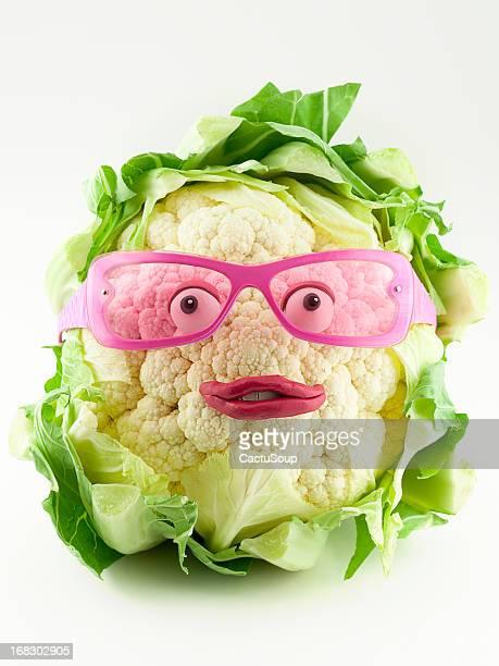 Cauliflower portrait