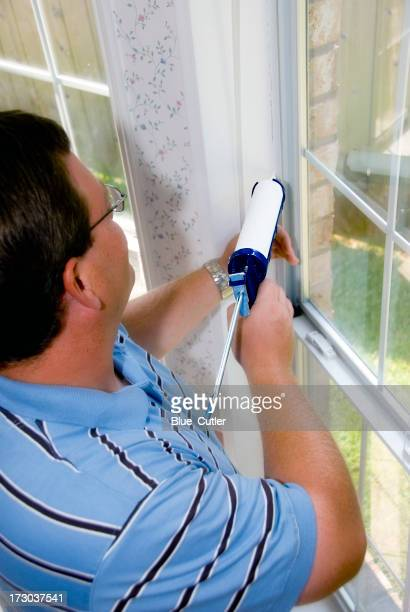 Caulking Window Frame