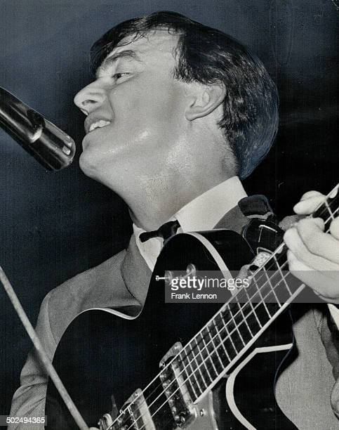 Cause of it all is Gerry Marsden and his Pacemakers with their Liverpool beat After being kissed and mauled by screaming and shrieking fans Gerry...