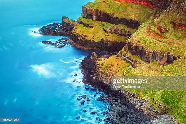 Causeway coastline in Northern Ireland, County Antrim