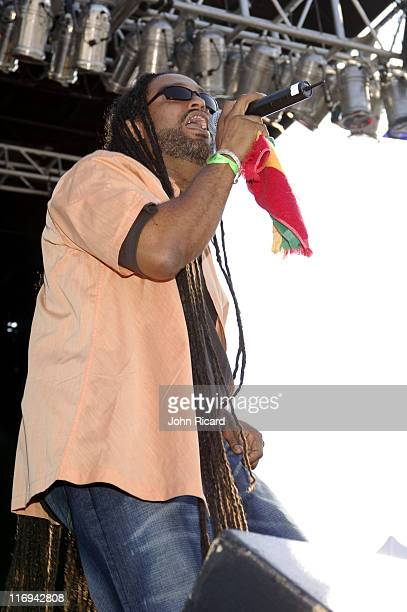 Causion during Guinness 8th Annual Reggae CariFest 2005 at Randall's Island Park in New York City New York United States