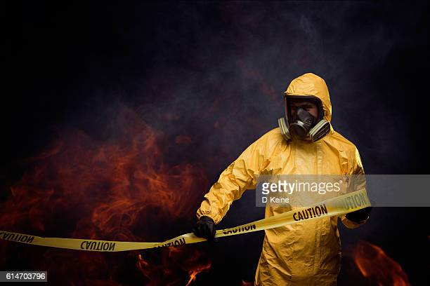 caution - gas mask stock pictures, royalty-free photos & images