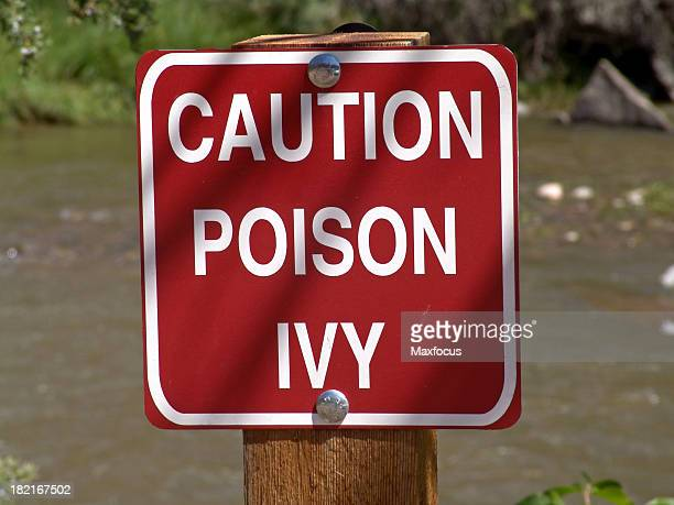 Caution Poison Ivy