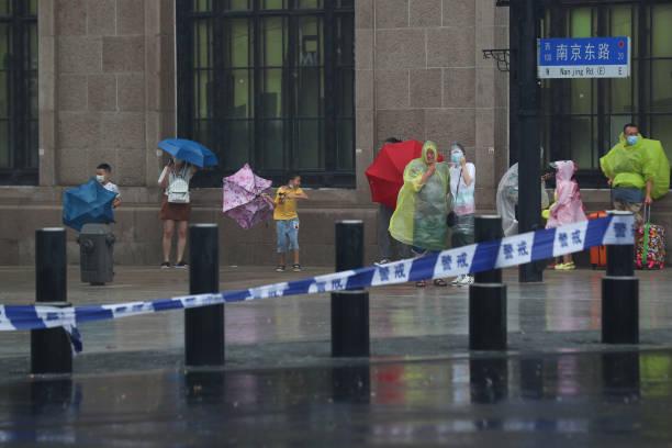 CHN: Typhoon In-Fa Affects Shanghai