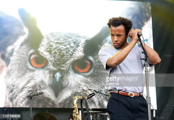Cautious Clay performs onstage for Day 1 of 2019 Governors Ball Music Festival at Randall's Island on May 31 2019 in New York City