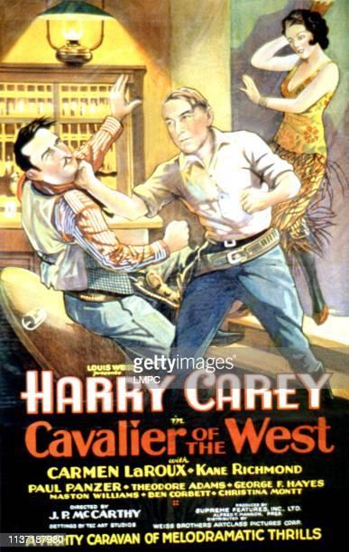 Cavalier Of The West poster Ted Adams Harry Carey Carmen Laroux 1931