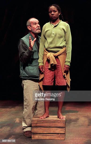 CAValley40301AR Scenes from Athol Fugard's first post–apartheid play 'Valley Song' is about an old tenant farmer and his restless grandaughter The...