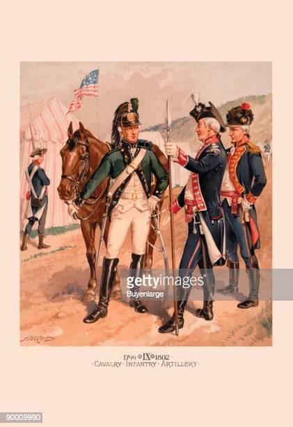 Cavalry - Infantry - Artillery
