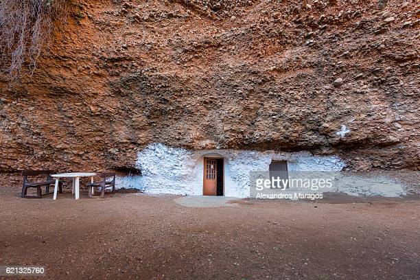 cave church in greece - peloponnese stock photos and pictures