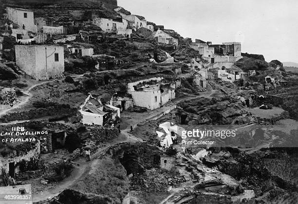Cave dwellings of Atalaya, Gran Canaria, Canary Islands, Spain, 20th century.