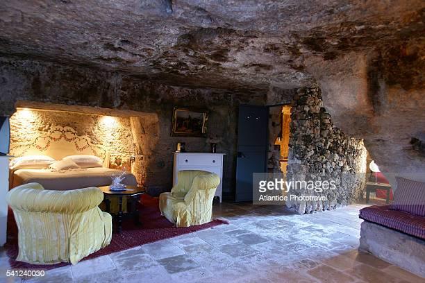 Cave Hotel Room at Masseria Torre Coccaro