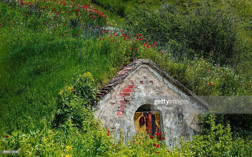 Cave house : Stock Photo