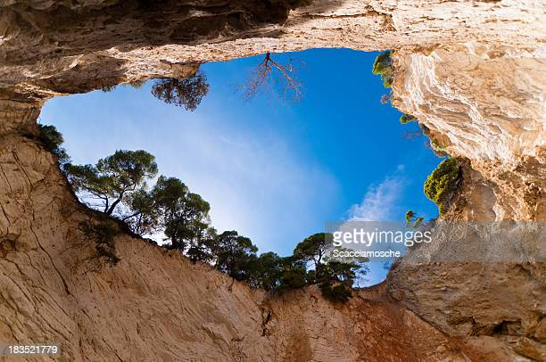 Cave in Apulia, Italy