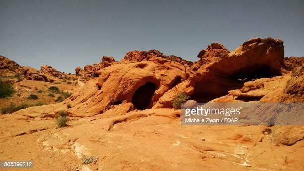 Cave in desert