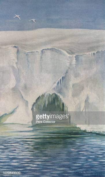Cave in the Barrier Cape Crozier Jan 4th 1911' The final expedition of British Antarctic explorer Captain Robert Falcon Scott left London on 1 June...