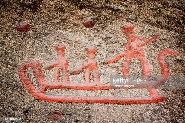cave paintings - allegory painting stock pictures, royalty-free photos & images