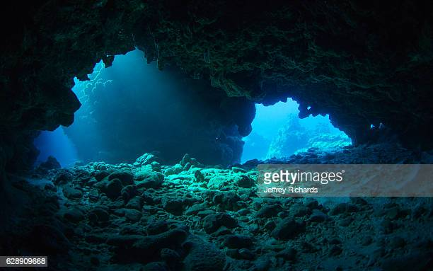 A cavern in Grand Cayman