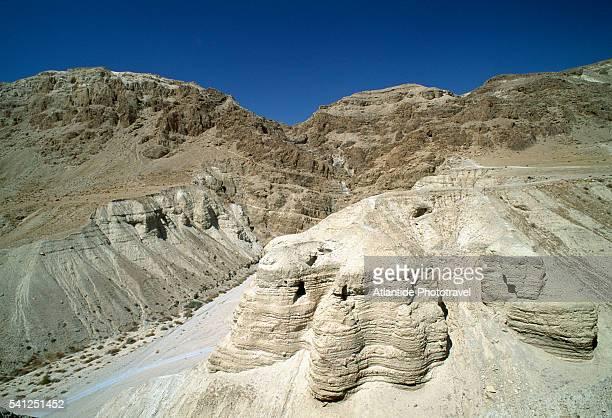 Caves of Dead Sea Scrolls in Qumran