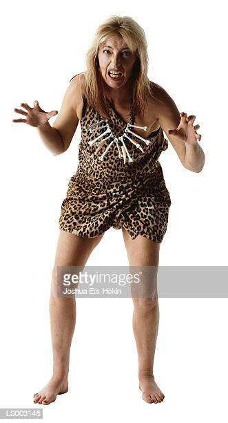 cavewoman - cavewoman stock pictures, royalty-free photos & images