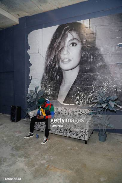 Cavier Coleman attends the private opening of the Good Luck Dry Cleaners Bowery location at 3 East 3rd on December 19 2019 in New York City