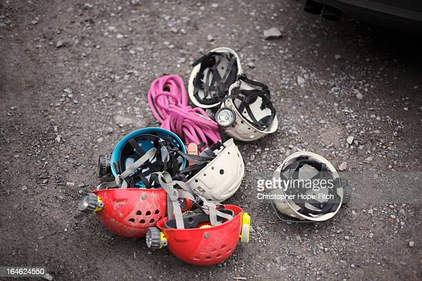 caving equipment - spelunking stock pictures, royalty-free photos & images