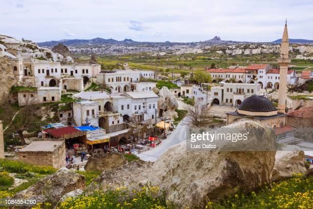cavusin overview - dafos stock photos and pictures