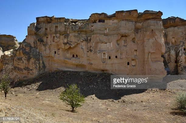 Cavusin rock dwellings