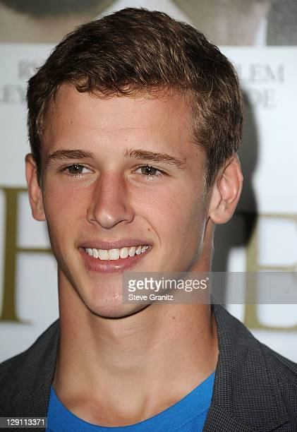 Cayden Boyd arrives at the 'Fireflies In The Garden' Los Angeles Premiere at Pacific Theatre at The Grove on October 12 2011 in Los Angeles California